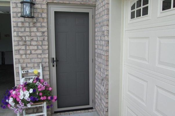 small garage side door