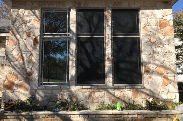Stone Three Window Building