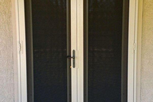 Screens over small door