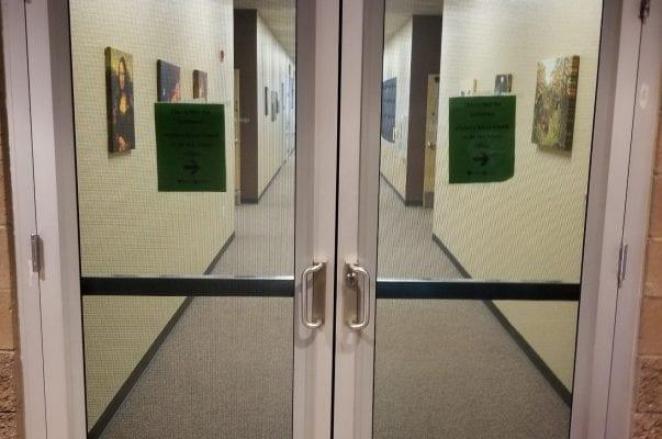 Office Side Entrance